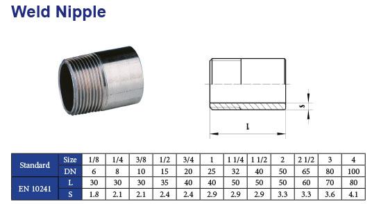 """Edelstahl Muffe Werkstoff 1.4571  3//8/"""" Gewinde Gewinde-Fitting"""